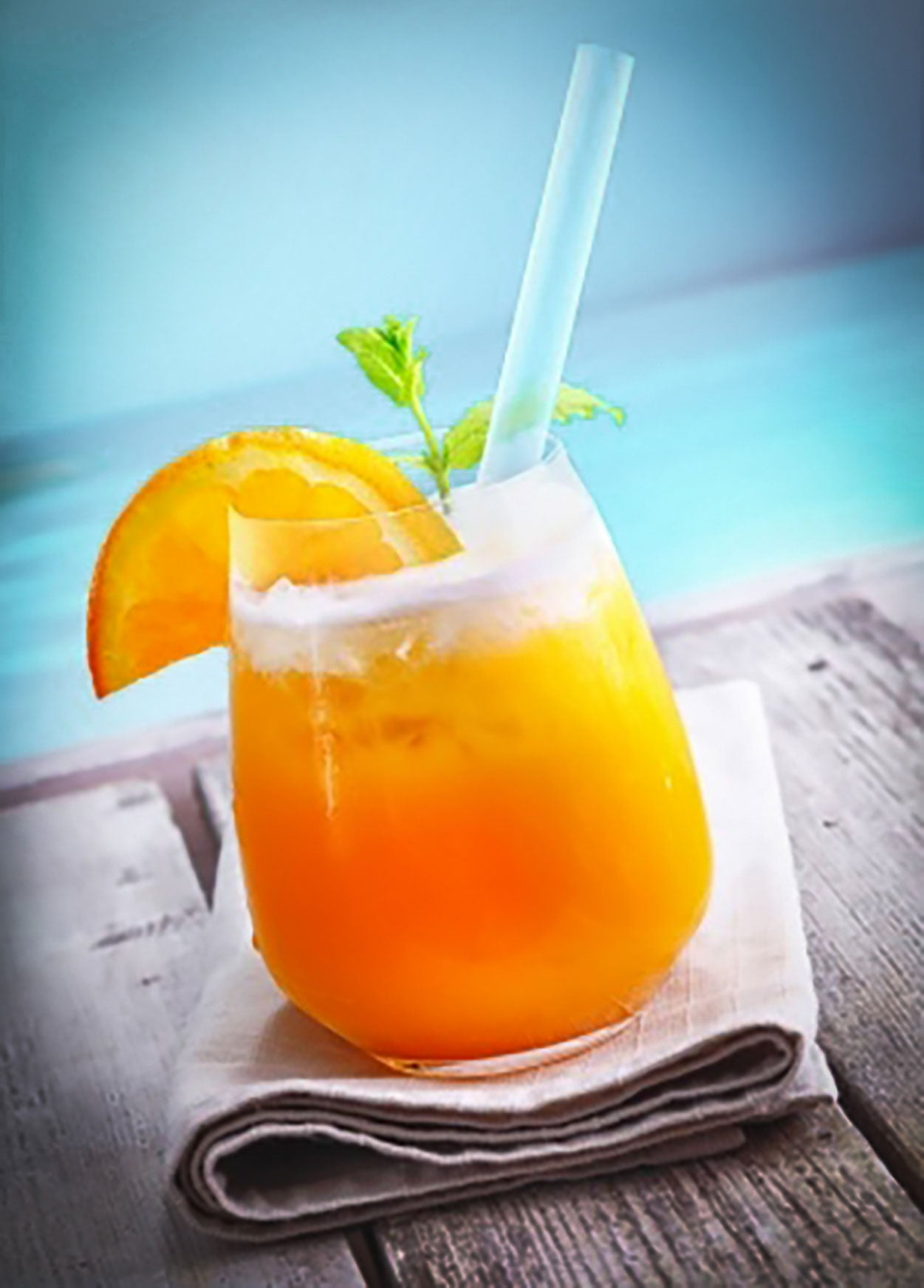 an orange crush cocktail