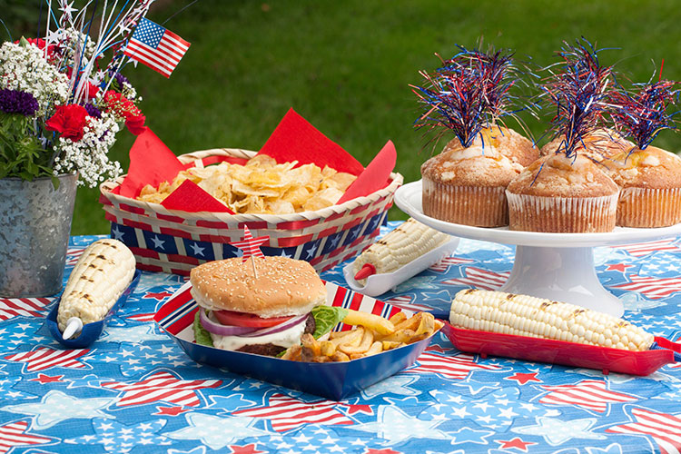 fourth of july picnic food