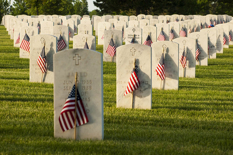 the graves of american heroes