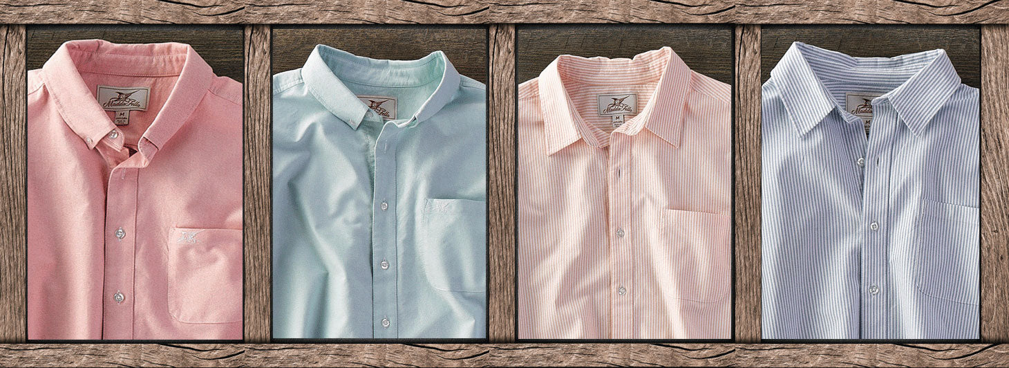 collection of madda fella oxford shirts