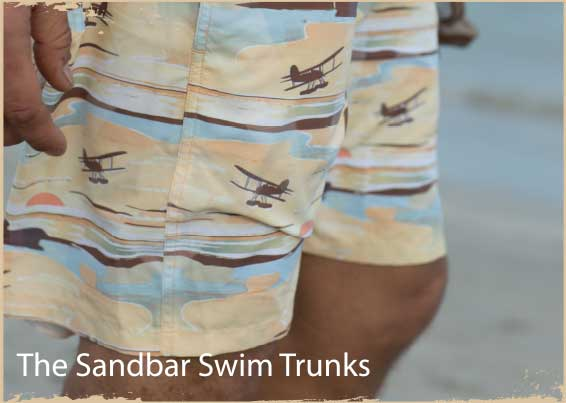 The Sandbar Swim Trunks