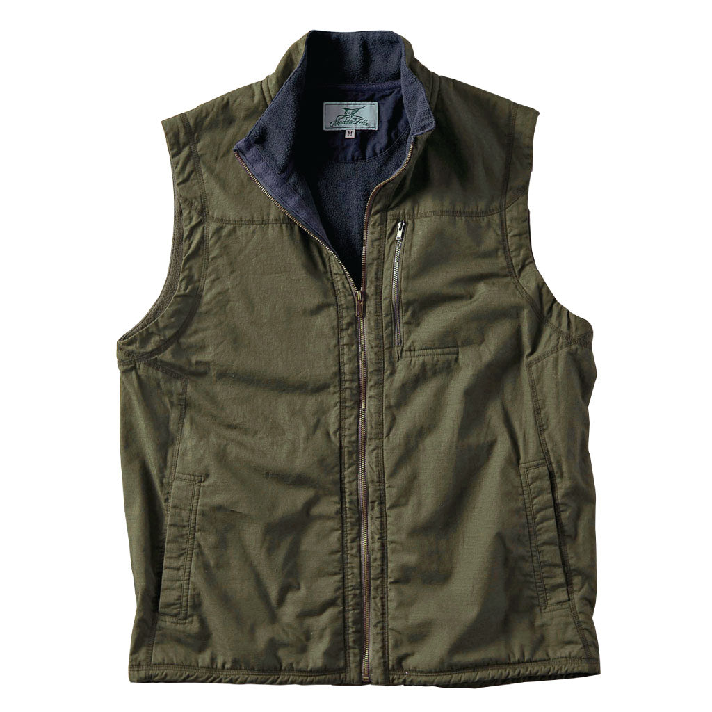 early morning beach vest - olive s