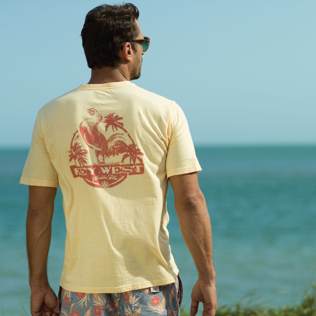 short sleeve excursion tee - kw rooster