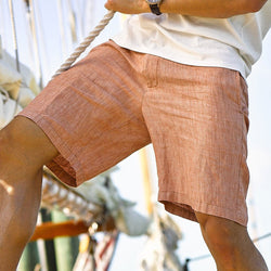 Customs House Brick Truman Linen Short