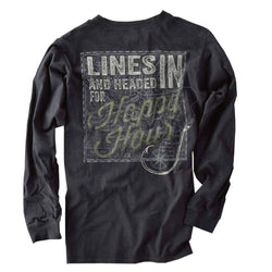 India Ink Long Sleeve Excursion - Lines In