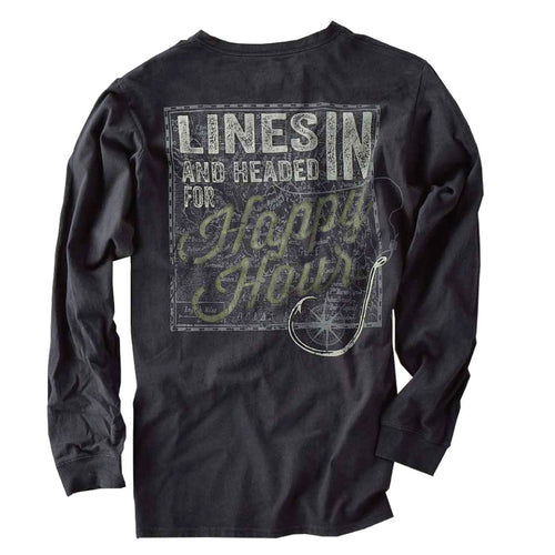 Long Sleeve Excursion - Lines In