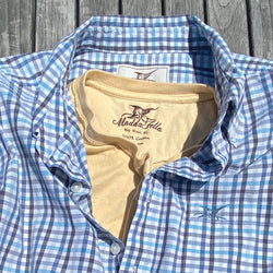 Moonlight Check Key West Poplin