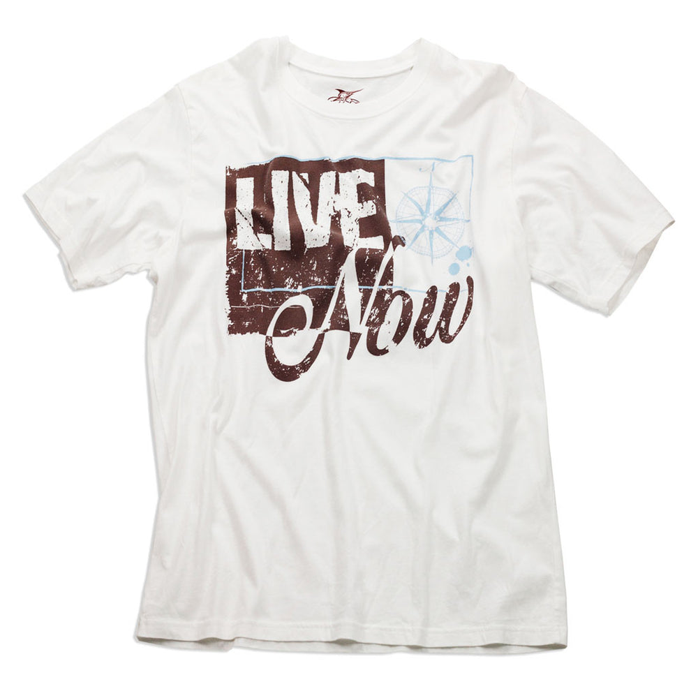 Short Sleeve Excursion Tee - Live Now Print