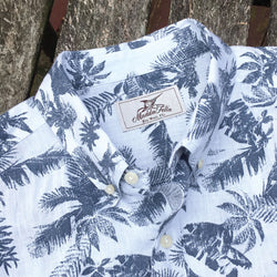 Vintage Palm Short Sleeve Ernest Linen