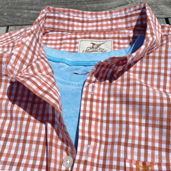 Sunburst Check Key West Poplin