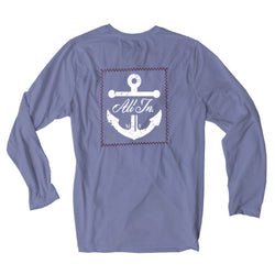 Blue Slate Suntek Long Sleeve Tee