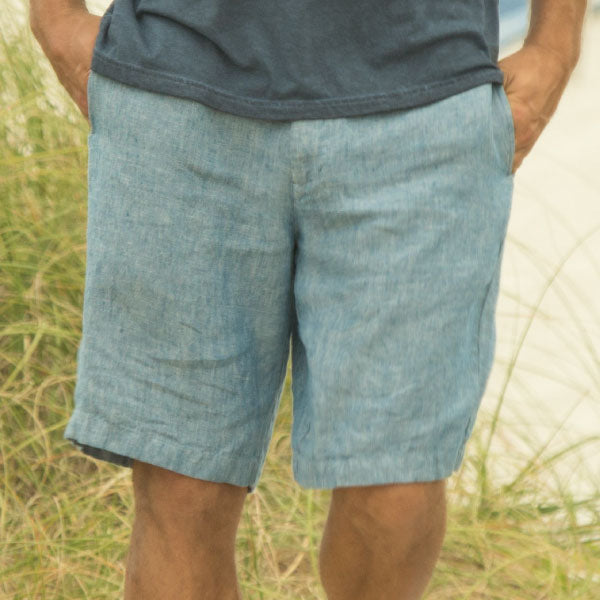 Linen Shorts Collection Lifestyle Image