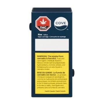 Extracts Inhaled - AB - Cove Rise THC 510 Vape Cartridge - Format: - Cove