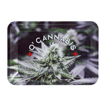 "O'CANNABIS Rolling Tray Mini - 7.2"" x 5"" x 0.88"" - Raw"