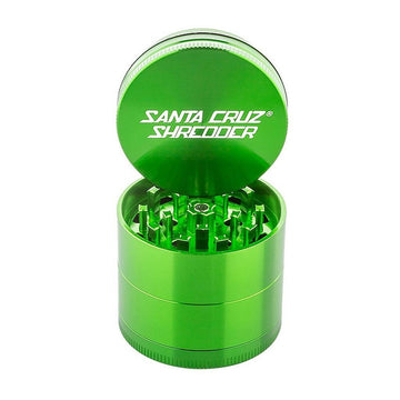 Grinder - Santa Cruz Shredder - 4-Piece Medium Green