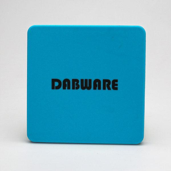 "DabWare 7""x7"" Flat Silicone Case - The Joint Cannabis"