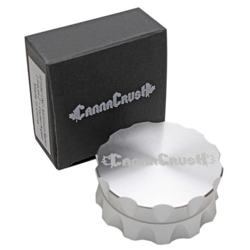 "CanaCrush Grooved 2"" 2-Piece Grinder"