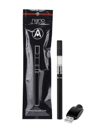 Concentrate Vaporizer Atmos Nano Liquid Auto Kit - Black