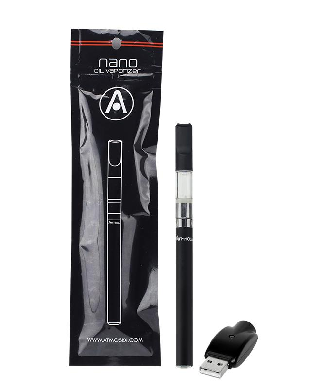 Concentrate Vaporizer Atmos Nano Liquid Auto Kit - Black - Atmos