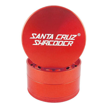 Grinder - Santa Cruz Shredder - 4-Piece Medium Red