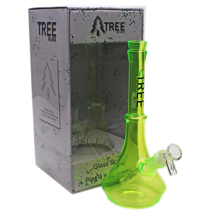 "Glass Rig Tree Glass 10"" Brights Mini Beaker - Tree Glass"