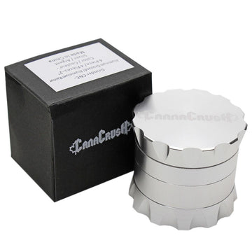"CanaCrush Grooved 2"" 4-Piece Grinder"