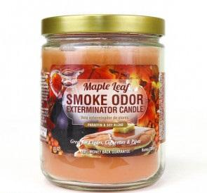Smoke Odor Candle Limited Edition 13oz Maple Leaf