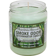 Smoke Odor Candle 13oz Bamboo Breeze - Smoke Odor
