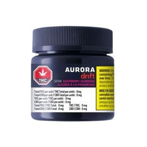 Edibles Solids - AB - Aurora Drift Gummies THC Raspberry - Format: - Aurora Drift