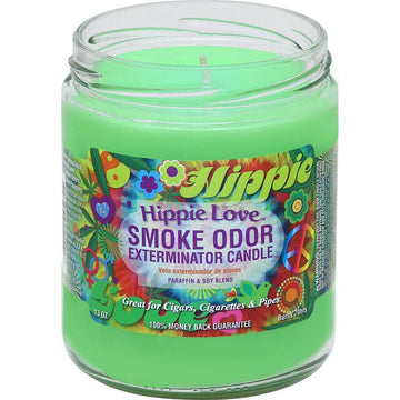 Smoke Odor Candle 13oz Hippie Love