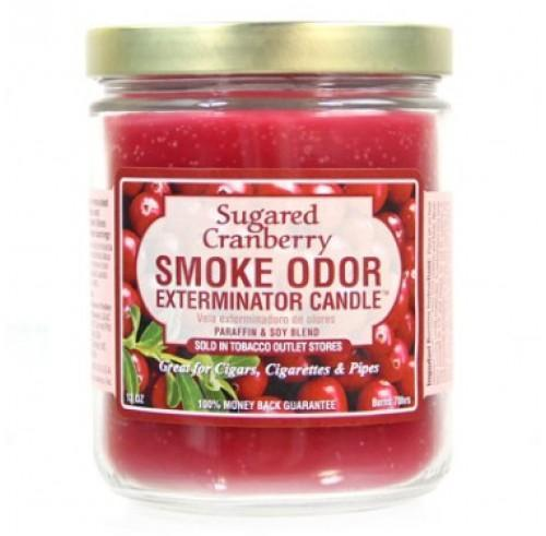 Smoke Odor Candle 13oz Sugared Cranberry - Smoke Odor