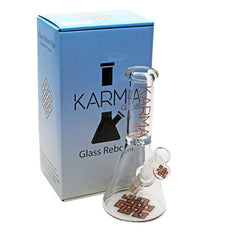 "Glass Bong Good Karma 9"" Skinny Beaker - Karma"