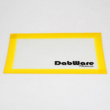 "DabWare Platinum Medium 15""x11"" Silicone Mat"