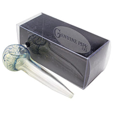 "RTL - Glass Pipe Genuine Pipe Co 3"" Fumed Straight - Genuine Pipe Co."