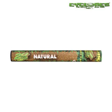 RTL - Cyclone Hemp Wraps Natural 2-Pack Cones