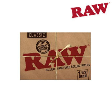 RTL - Raw 1.5 Size Rolling Papers