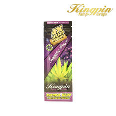RTL - Kingpin Hemp Wraps 4X Goomba Grape - Kingpin