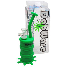 "Silicone Bubbler Dabware Platinum 8.5"" Can - Dabware"