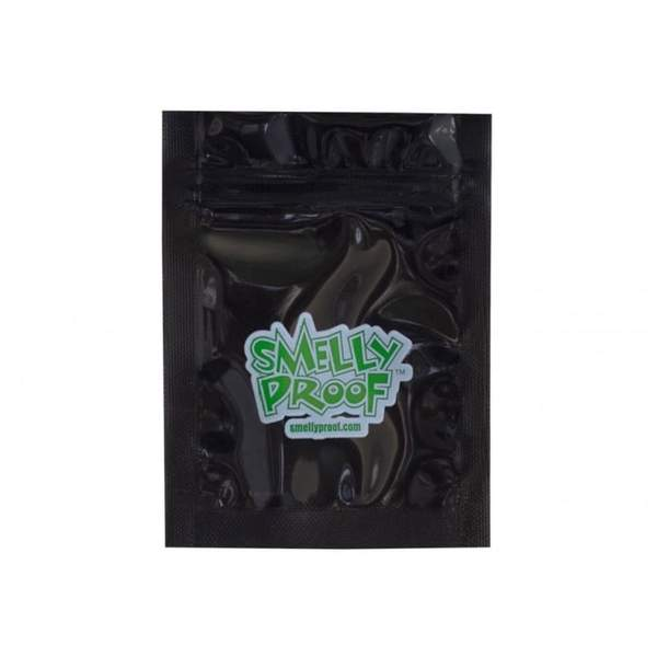 Smelly Proof Bag Black XXS 3x4.5 - Smelly Proof