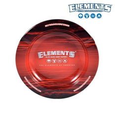 Ashtray Elements Metal Red - Elements
