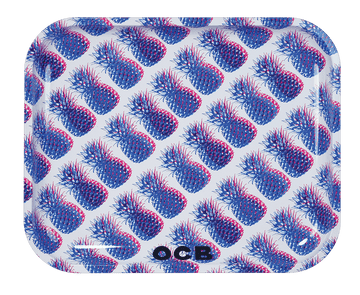 Rolling Tray OCB Metal Tray OCB Pineapple Large