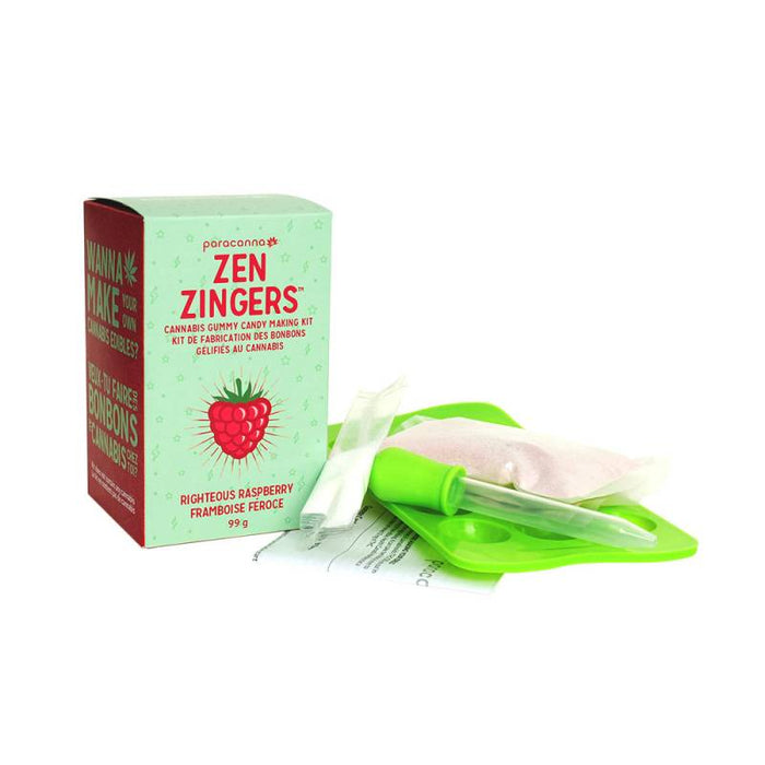 Edible Kits - Paracanna - Zen Zingers - Cannabis Gummy Candy Kit - The Joint Cannabis