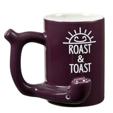 Ceramic Roast and Toast Mug Pipe Purple - Roasted and Toasted