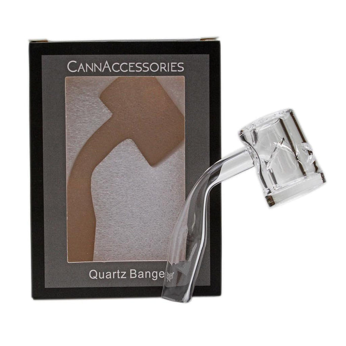 Glass Concentrate Accessory CannAccessories Reactor Quartz Banger 14mm Male 45 Degree - The Joint Cannabis