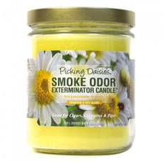 Smoke Odor Candle 13oz Picking Daisies - Smoke Odor