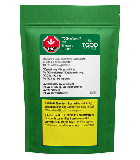 Edibles Solids - SK - TGOD Infusers Dissolvable THC Powder - Format: - TGOD