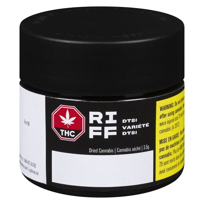 Dried Cannabis - RIFF DT81 Flower - Format: - RIFF
