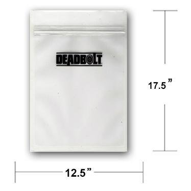 Deadbolt Smell Proof Bag 12x17 - Deadbolt