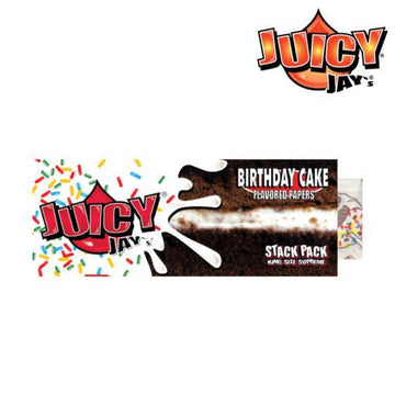 RTL - Juicy Jay King Size Birthday Cake Papers w/Tips