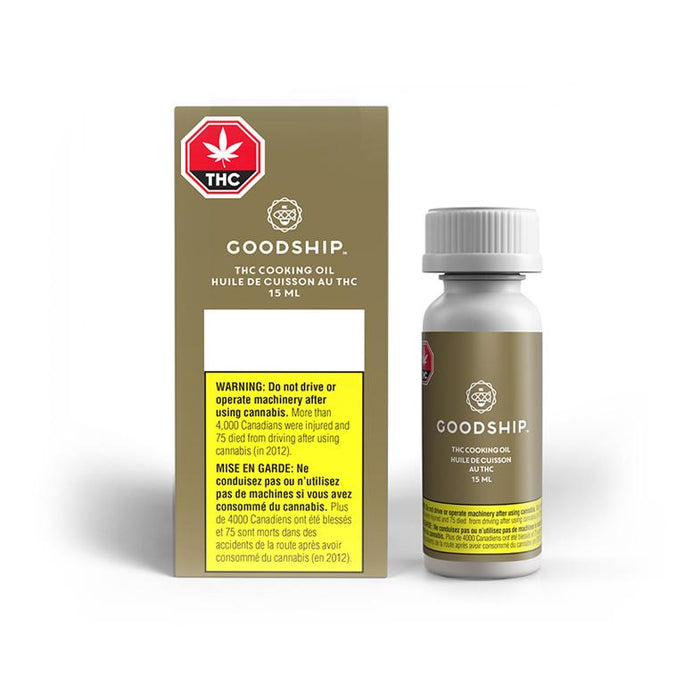 Extracts Ingested - AB - Goodship THC Cooking Oil - Volume: - Goodship